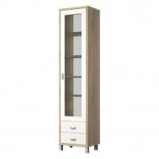 Шкаф витрина ВК-04-02 (сонома)