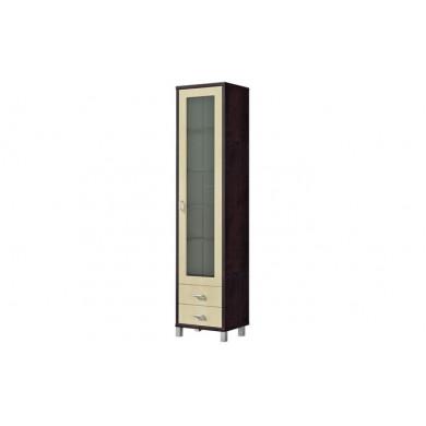 Шкаф витрина ВК-04-02 (венге)