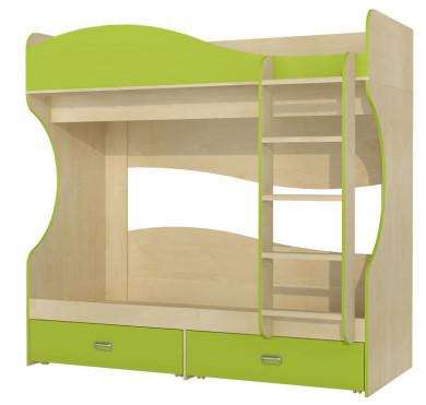 Кровать двухъярусная МН-211-06